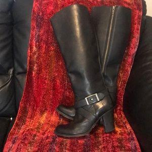 Badass Knee Length Frye Boots